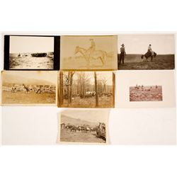 Real Photo Postcards & Photographs of Cowboys Working