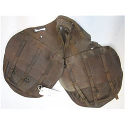 US Leather Saddle Bags