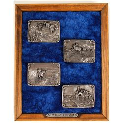 Charles Russell Belt Buckles