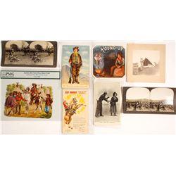 Cowboys RPC's, Stereoviews, & Showcard