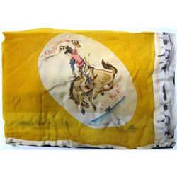 Vintage Silk Rodeo Scarf