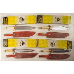 Four Timber Rattler TR 64 Bowie Knives