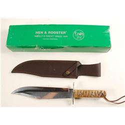 Hen and Rooster Bowie Knife