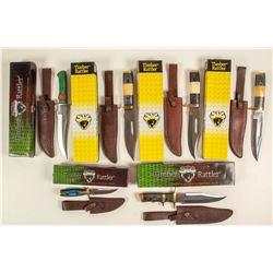 Timber Rattler hunter knives