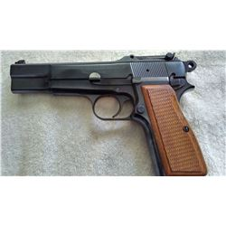 Belgium made Browning high-power 9mm pistol