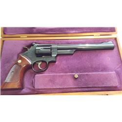 Smith & Wesson model 57 in .41 mag. with presentation case