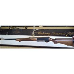 Browning BAR .338 Win. Magnum rifle