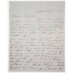 Dakota City, Iowa Civil War Letter