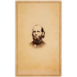 CDV of Confederate Governor of Mississippi Pettus