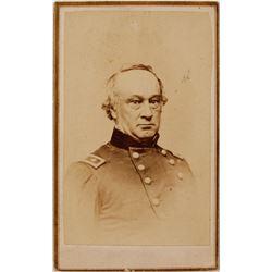 CDV of Civil War General Henry Halleck
