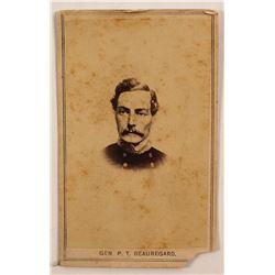 General Tousaint Beauregard / Pre Civil War Photo .