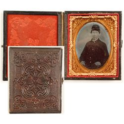 Ambrotype of Union Soldier