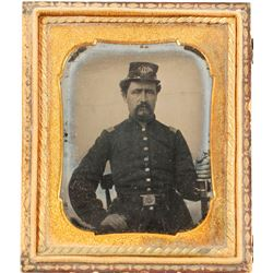 Ambrotype Union Soldier