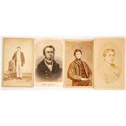 Four CDVs of Union Civil War Soldiers