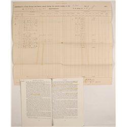 Modoc Indian War Document