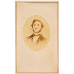 CDV Litho. of Col. James Fannin, Slave Trader & Texas Army Col.