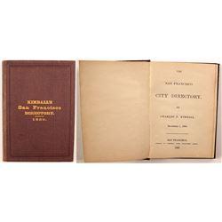 Kimball's San Francisco Directory, 1850
