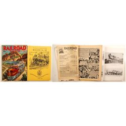Books of Railroad Magazine & The Railway & Locomative Historical Society