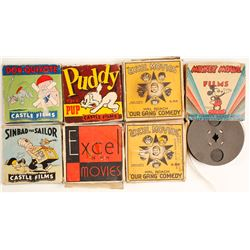 16mm Kids Films in Boxes