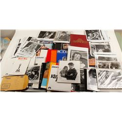 Hollywood Collection with Many Press Kits