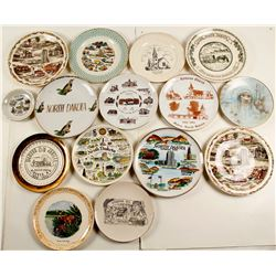 Souvenir Plates (15) From North Dakota