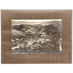 Morenci in the Twilight Mounted Photograph