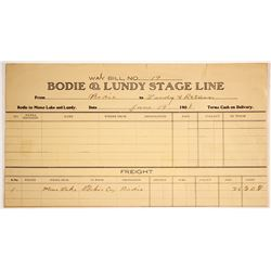 Bodie & Lundy Stage Line