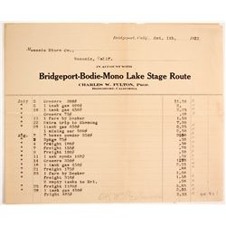 Bridgeport-Bodie-Mono Lake Stage Route