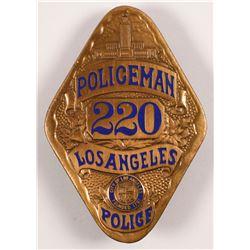 Policeman Badge