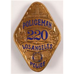 Policeman Badge