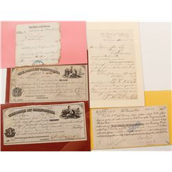 Bank of California Exchanges & Ephemera