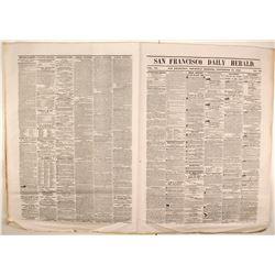 San Francisco Daily Herald Sept 25, 1856