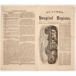 St. Luke's Hospital Register Newspaper