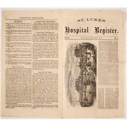 St. Luke's Hospital Register Newspaper