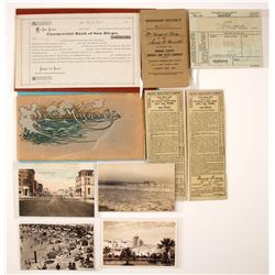 Southern California Beach Towns Ephemera