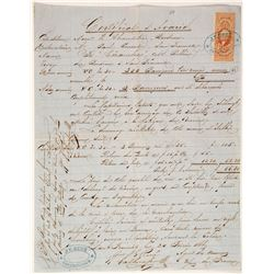 Import Document from JE Rene of San Francisco for Barrigues Vin rouge Wine