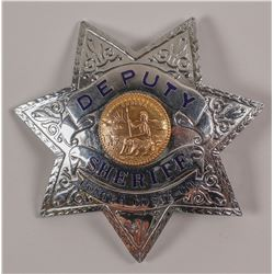 Contra Costa County Deputy Sheriff Badge