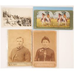 Dakota Territory Photographs incl. Native Americans