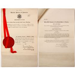 Official Copy of the 19th Amendment (Women's Right to Vote)