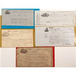 Early Steamship Bills of Lading