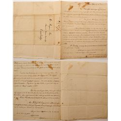 1800 Letter to Student at Harvard