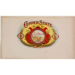Copper State Cigar Box Label
