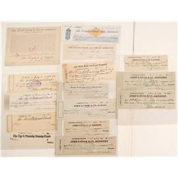 Goldfield Check Collection Plus 2 Extra Nevada Checks
