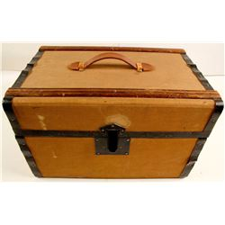 Antique Virginia City Masonic Trunk for a Comstock Miner