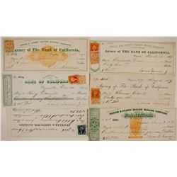 Gould & Curry Silver Mining Co. Check Collection