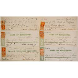 Louis Janin, Virginia City Mine Supt. Check Collection