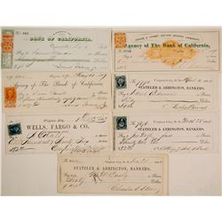 Virginia City Mining Check Collection incl. Territorial