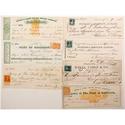 Virginia City, Nevada Mining Check Collection