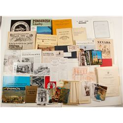 Eclectic Collection of Nevada Publications and Pamphlets