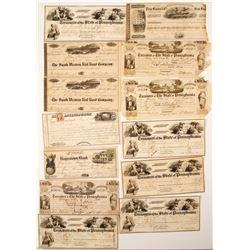 Lavishly Illustrated US Warrants & Drafts
